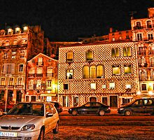 Casa dos Bicos, Lisbon, Portugal by vadim19