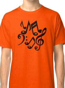 Notes classic music Classic T-Shirt