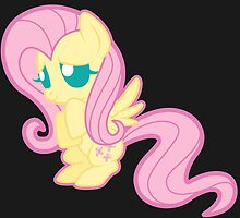Chibi Fluttershy Sticker by Night-Ferocity