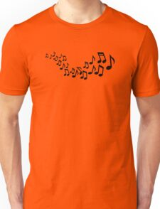 Mixed notes singer Unisex T-Shirt
