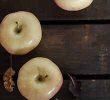 Apples Trio by Melinda Anderson