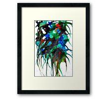 alien flowers # 2 Framed Print