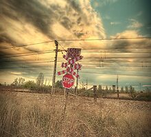 Old train signal by jordimonfort