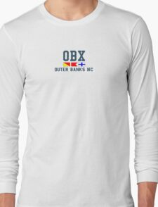 OBX - Outer Banks. Long Sleeve T-Shirt