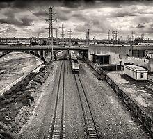 Metrolink - Downtown LA by Nadim Baki