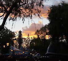 Fantasyland Sunsets by rachelgracey