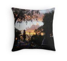 Fantasyland Sunsets Throw Pillow
