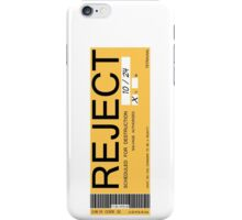CHAPPIE - Reject Sticker  iPhone Case/Skin
