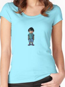 Pixel Me  Women's Fitted Scoop T-Shirt