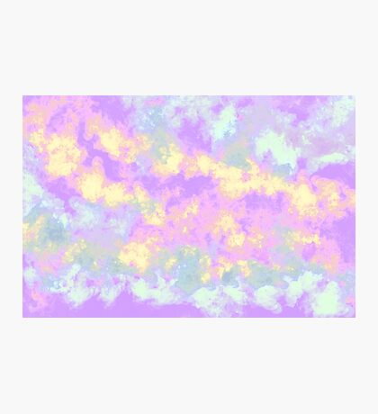 pastel clouds  Photographic Print
