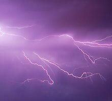 Just a Splash of lightning by Daniel Fitzgerald