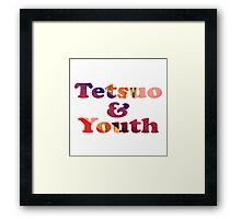 Tetsuo and Youth Framed Print