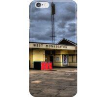 West Monkseaton Metro Station iPhone Case/Skin