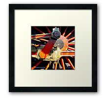 Latent Power Framed Print