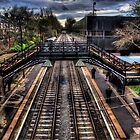 South Gosforth Metro Station by Andrew Pounder