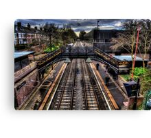South Gosforth Metro Station Canvas Print