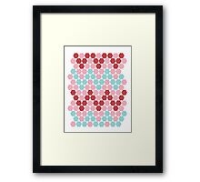 HEXAGONe With The Wind Framed Print