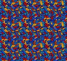 Blue Puzzle Design by Gotcha29