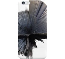 """""""artotem iv"""" oil painting shown as a spherical depth map iPhone Case/Skin"""