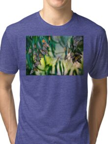 Elegant Blossoms Tri-blend T-Shirt