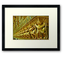 Fighting Monkeys Framed Print