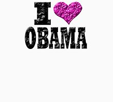 I Love Obama Womens Fitted T-Shirt