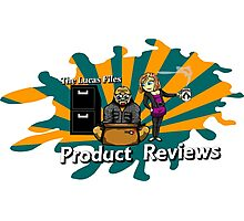 The Lucas Files Product Reviews Logo Photographic Print