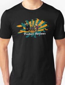 The Lucas Files Product Reviews Logo Unisex T-Shirt