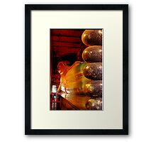 Reclining Budda at Wat Pho Framed Print