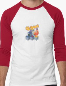 Q*bert Men's Baseball ¾ T-Shirt