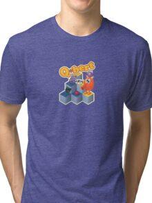 Q*bert Tri-blend T-Shirt