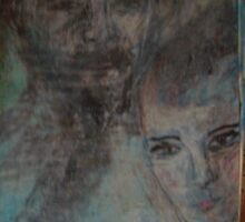 Old and faded scraps of paper-4 by catherine walker