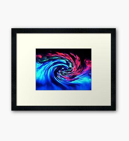 Tsuami ... Framed Print
