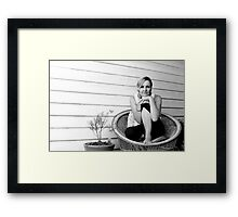 She's not there Framed Print