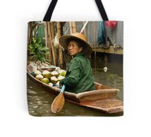Coconut Milk Boat Tote Bag