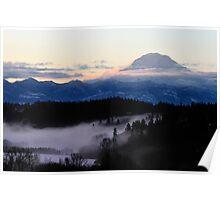 Mountain Awakening Poster