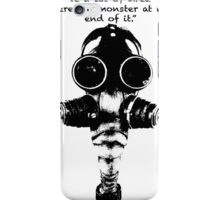 True Detective Gas Mask iPhone Case/Skin