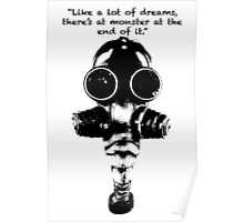True Detective Gas Mask Poster