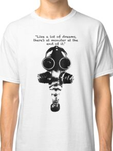 True Detective Gas Mask Classic T-Shirt