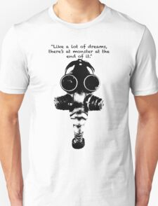 True Detective Gas Mask T-Shirt