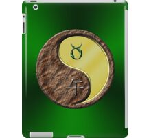 Taurus & Horse Yang Metal iPad Case/Skin