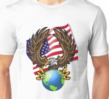 America Bald Eagle Unisex T-Shirt