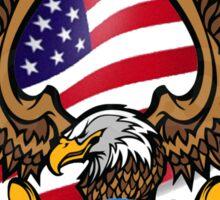 America Bald Eagle Sticker