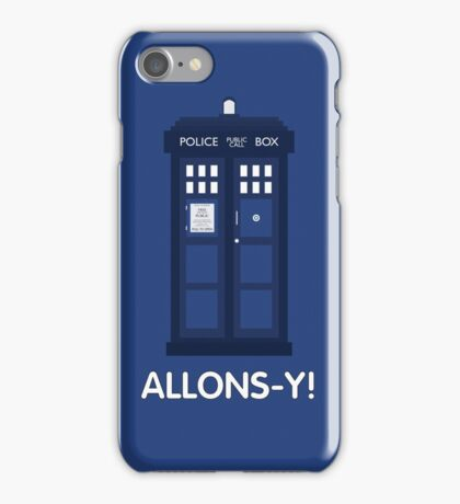 Doctor Who Police Call Box iPhone Case/Skin