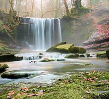 The misty falls close up by chrisblackwell29