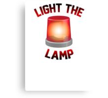 Light The Lamp Canvas Print