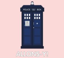 Doctor Who Police Call Box Kids Clothes