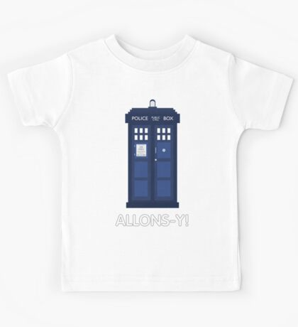 Doctor Who Police Call Box Kids Tee