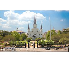 St Louis Cathedral  New Orleans, Louisiana Photographic Print