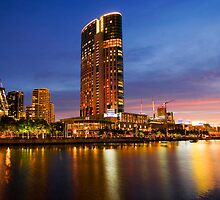 Crown Casino, Melbourne by Michael Bates